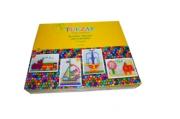 Мозаика пластиковая «Multiform», 710 предметов: 8 шаблонов, 700 округлых деталей мозаики, шнурки, корзина для хранения, игровое поле