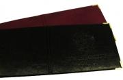 Обложка для студен.. билета из имп. пленки ПВХ, ассорти